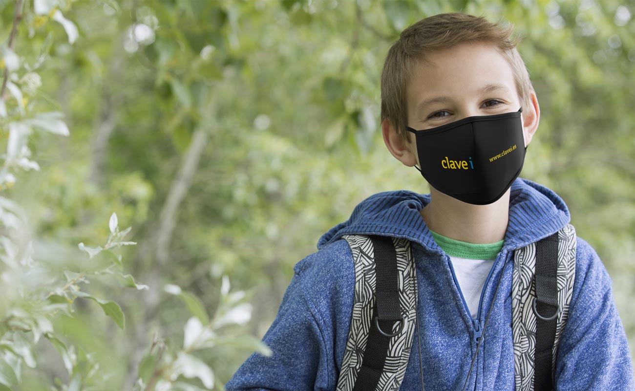 Junior - Brändätyt suojaavat kasvomaskit